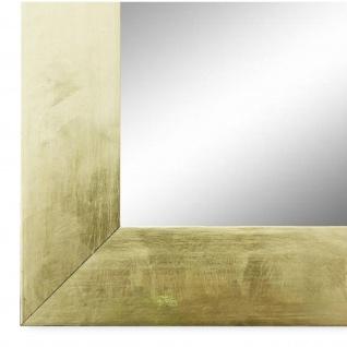 Wandspiegel Spiegel Gold Shabby Vintage Retro Holz Lecce 3, 9 - NEU alle Größen