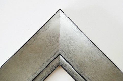 Bilderrahmen Silber Shabby Antik Rahmen Holz Klassisch Bochum 6, 9 - alle Größen