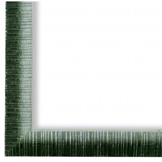 Bilderrahmen Grün Silber Vintage Holz Sorrento 2, 5 - 40x60 50x50 50x60 60x60