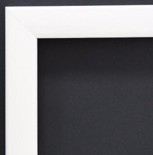 Bilderrahmen Weiss Lack Modern Rahmen Holz Art Hannover 2, 4 - alle Größen
