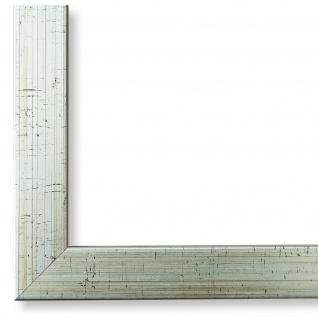 Bilderrahmen Silber Struktur Modern Holz Como 2, 0 - NEU alle Größen