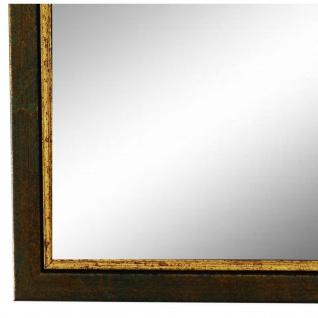 Wandspiegel Spiegel Grün Gold Retro Vintage Holz Sanremo 1, 8 - NEU alle Größen