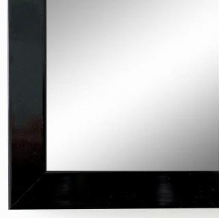 Spiegel Wandspiegel Badspiegel Flur Garderobe Modern Como Schwarz Lack 2, 0