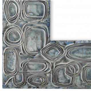 Bilderrahmen hell Blau Vintage Retro Catania Holz 6, 8 - NEU alle Größen