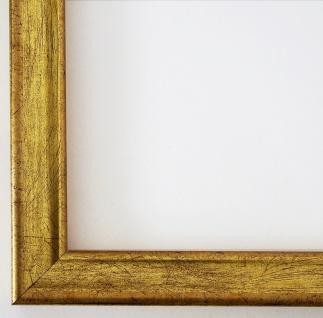 Bilderrahmen Gold Modern Antik Rahmen Holz Shabby Kiel 2, 3 - alle Größen NEU