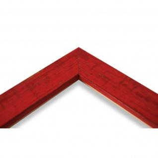 Bilderrahmen Rot Antik Vintage Holz Cremona 3, 0 - 40x60 50x50 50x60 60x60 - Vorschau 4