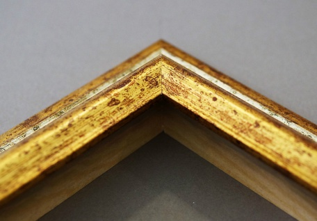 Wandspiegel Hochformat Querformat Bari Antik Silber Gold 4, 2 - NEU alle Größen - Vorschau 5