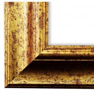 Bilderrahmen Gold gemasert Antik Vintage Rahmen Acta 6, 8 - NEU alle Größen