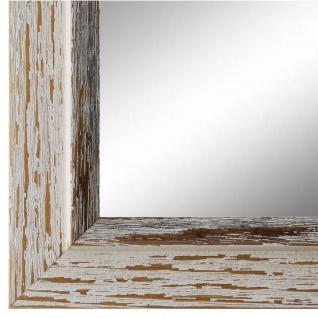 Spiegel Wandspiegel Beige Schwarz Modern Holz Catanzaro 3, 9 - NEU alle Größen