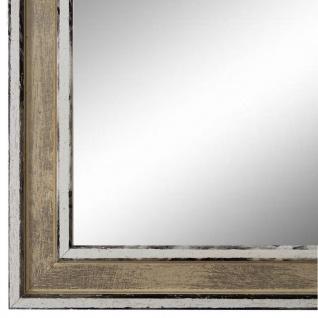 Wandspiegel Spiegel Beige Retro Shabby Holz Lugnano 2, 8 - NEU alle Größen