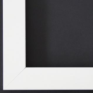 Bilderrahmen Rahmen Holz Modern Art Leverkusen in Weiss Matt 3, 3 - Top Qualität