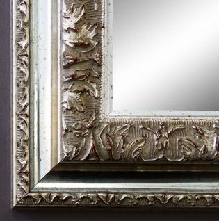 Spiegel Silber Antik Barock Wandspiegel Badspiegel Flur Prunkrahmen Rom 6, 5