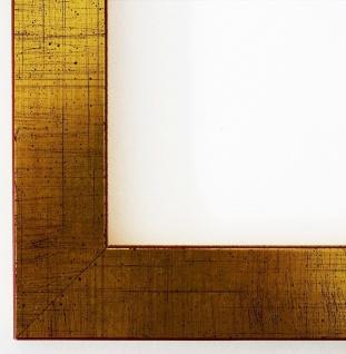 Bilderrahmen Gold Leverkusen 3, 3 - DIN A0 DIN A1 DIN A2 DIN A3 DIN A4 DIN A5
