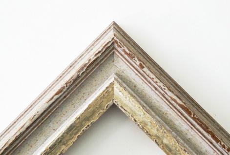 Garderobenspiegel Beige Silber Trento Antik Shabby 5, 4 - NEU alle Größen - Vorschau 3