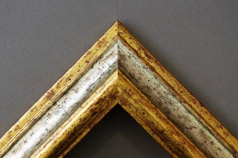 Dekospiegel Silber Gold Bari Antik Barock 4, 2 - NEU alle Größen - Vorschau 3