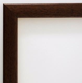Bilderrahmen Braun Modern Rahmen Holz Art Deco Stil Hannover 2, 4 - alle Größen
