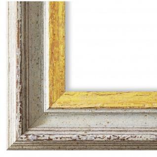 Bilderrahmen Beige Gold Klassisch Retro Holz Trento 5, 4 - NEU alle Größen