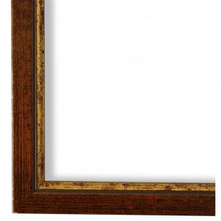 Bilderrahmen Kupfer Gold Vintage Holz Sanremo 1, 8 - 40x60 50x50 50x60 60x60