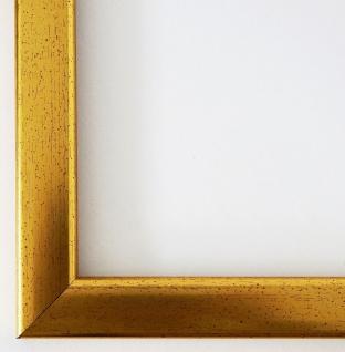 Bilderrahmen Gold Hannover 2, 4 - DIN A2 - DIN A3 - DIN A4 - DIN A5