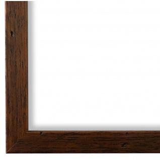 Bilderrahmen Braun gemasert Modern Holz Neapel 2, 0 - NEU alle Größen