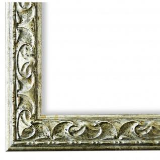 Bilderrahmen Silber Holz Mantova 3, 1 - DIN A2 - DIN A3 - DIN A4 - DIN A5