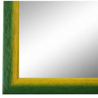 Wandspiegel Spiegel Grün Gelb Retro Vintage Holz Pinerolo 2, 3 - NEU alle Größen
