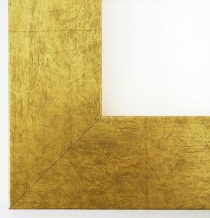 Bilderrahmen Essen in Gold Modern Shabby Rahmen Holz Foto 6, 0 - alle Größen NEU