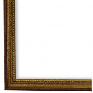 Bilderrahmen Braun Gold Barok Rokoko Holz Empoli 1, 5 - 40x60 50x50 50x60 60x60