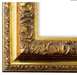Bilderrahmen Gold Barock Rokoko Retro Holz Rom 6, 5 - NEU alle Größen
