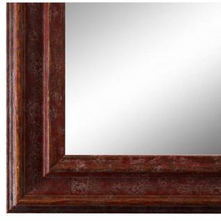 Wandspiegel Spiegel Rot Vintage Retro Holz Forli 3, 7 - NEU alle Größen