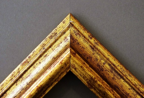 Garderobenspiegel Gold Bari Antik Barock 4, 2 - NEU alle Größen - Vorschau 3