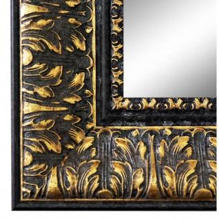 Spiegel Wandspiegel Schwarz Gold Barock Retro Holz Ancona 7, 5 - NEU alle Größen