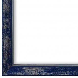 Bilderrahmen Blau Silber olz Frosinone 1, 8 - DIN A2 - DIN A3 - DIN A4 - DIN A5