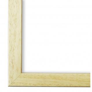 Bilderrahmen Beige Modern Holz Neapel 2, 0 - DIN A2 - DIN A3 - DIN A4 - DIN A5