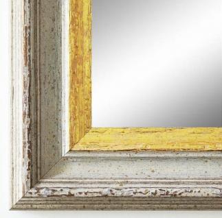 Spiegel Wandspiegel Badspiegel Flur Antik Barock Trento Beige Weiß Gold 5, 4