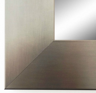 Wandspiegel Hochformat Querformat Novara dunkel Silber 7, 0 - NEU alle Größen