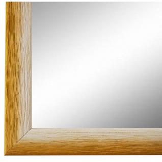Wandspiegel Spiegel Gelb Weiss Retro Vintage Holz Pinerolo 2, 3 - NEU alle Größen
