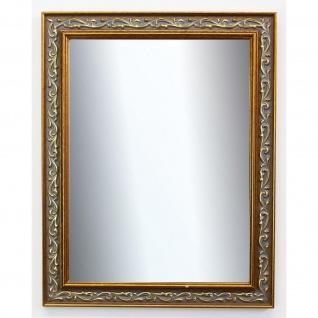 Spiegel Wandspiegel Badspiegel Flur Antik Barock Vintage Verona Grau Gold 4, 4