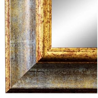 Wandspiegel Spiegel Grau Gold Klassisch Barock Acta 6, 7 - NEU alle Größen