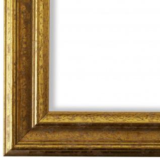 Bilderrahmen Gold Vintage Retro Holz Forli 3, 7 - NEU alle Größen