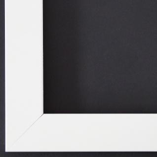 Bilderrahmen matt Weiss Antik Shabby Rahmen Leverkusen 3, 3 - alle Größen NEU