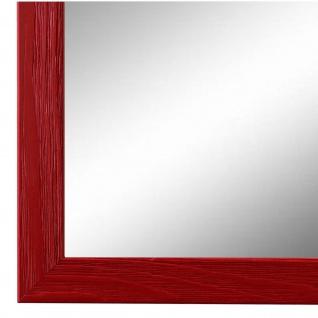 Wandspiegel Spiegel Rot Retro Modern Holz Siena 2, 0 - NEU alle Größen