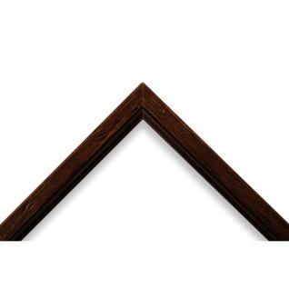 Wandspiegel Spiegel Braun gemasert Antik Retro Holz Vasto 1, 8 - NEU alle Größen - Vorschau 3