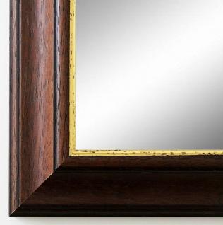 Flurspiegel Braun Gold Genua Antik Barock 4, 2 - alle Größen