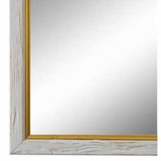 Wandspiegel Spiegel Beige Gold Antik Retro Holz Vasto 1, 8 - NEU alle Größen