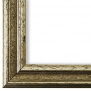 Bilderrahmen Silber Holz Forli 3, 7 - DIN A2 - DIN A3 - DIN A4 - DIN A5