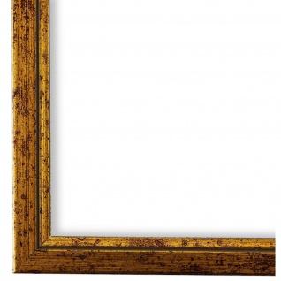 Bilderrahmen Gold Vintage Shabby Holz Sanremo 1, 8 - 40x60 50x50 50x60 60x60
