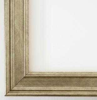 Bilderrahmen Rahmen Holz Foto Urkunden Antik Barock Landhaus Hamburg Silber 3, 4
