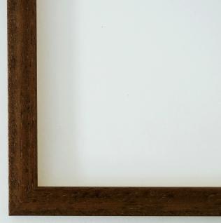 Bilderrahmen Rahmen Holz Modern Oldenburg in Braun Struktur 1, 7 - Top Qualität