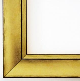 Bilderrahmen Gold Dortmund DIN A0 - DIN A1 - DIN A2 - DIN A3 - DIN A4 - DIN A5